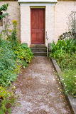 Cottage entrance Stock Photography