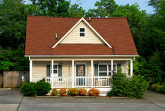 Cottage in estate Fotografie Stock