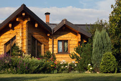 Cottage exterior Stock Image
