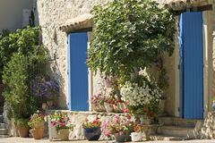 Cottage, French village. Provence. Royalty Free Stock Photo