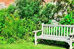 Cottage garden detail. Pretty an English cottage garden detail Stock Photo