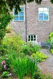 cottage garden detail stock photo