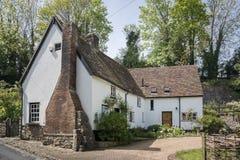 Cottage grazioso in Risonanza, Regno Unito Immagini Stock