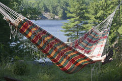 On the Cottage Hammock Royalty Free Stock Photos