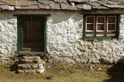 Cottage in the Himalayas Stock Photography