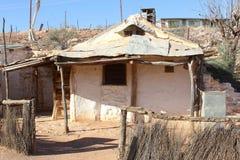 Cottage historique des mineurs dans Andamooka, Australie du sud photos libres de droits