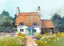Free Cottage House Stock Image - 94643021