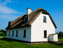 Cottage house. In the west of Ireland in sunny day royalty free stock photos