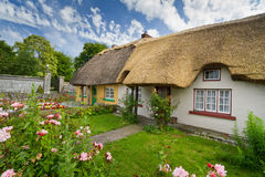Cottage houses. Irish traditional cottage houses of Adare Royalty Free Stock Photos