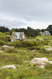 Cottage houses, country house Stock Images