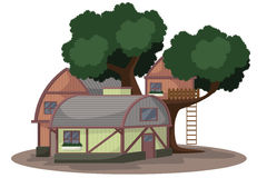 Cottage illustration Stock Photo