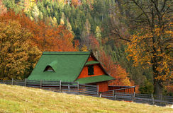 Free Cottage In Autumn Royalty Free Stock Image - 3350626