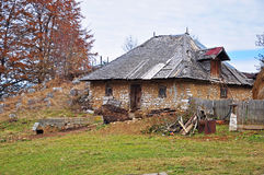 Cottage In Mountain Royalty Free Stock Photography