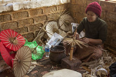 Cottage Industry - Myanmar (Burma) Royalty Free Stock Images