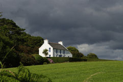 Cottage Irlande de ferme Images libres de droits