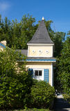 Cottage jaune Image libre de droits