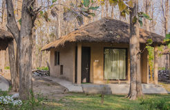 Cottage in jim corbett Royalty Free Stock Images