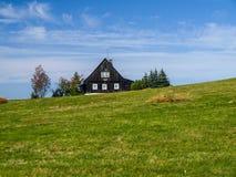 Cottage in Jireka village. (Czech Republic Royalty Free Stock Photos
