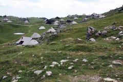 Cottage in Julian Alps Immagine Stock
