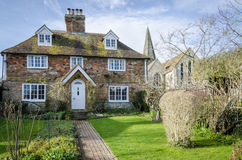 Cottage in a Kent Village Stock Photos