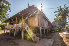 Cottage of khmer Stock Image
