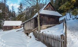 Cottage in Kvacianska dolina, Slovakia Stock Images