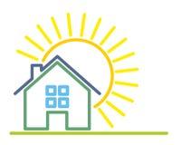 Cottage Logo. Royalty Free Stock Photo