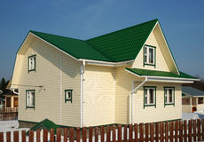 Cottage moderno Fotografia Stock