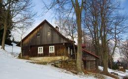 Cottage in montagne Immagini Stock Libere da Diritti