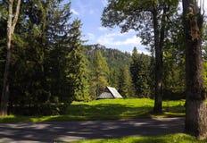 cottage mountain s στοκ εικόνες