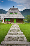 Cottage in mountain Royalty Free Stock Image