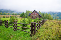 Cottage in the mountains Royalty Free Stock Photo