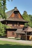 Cottage in museo piega Immagine Stock Libera da Diritti
