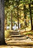 Cottage at the Muskoka Lakes, Canada. Cottage at the Muskoka Lakes, Ontario, Canada Royalty Free Stock Image