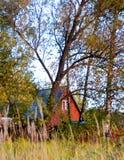 Cottage nel legno Fotografia Stock