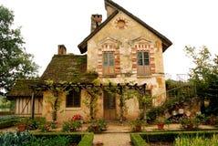 Cottage nel villaggio della regina, Versailles, Francia Fotografia Stock