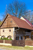 Cottage nella regione di Kokorin Immagine Stock