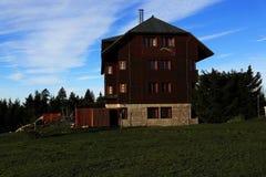 Cottage Oddech, Pec pod Snezkou, the giant mountains (czech: Krkonose, Pec pod Snezkou), the northern part of the Czech Republic Royalty Free Stock Image