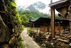Cottage Of The Lisu Nationality Royalty Free Stock Image