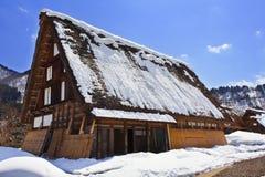 Cottage at Ogimachi Village. Shirakawago, UNESCO world heritage Stock Images