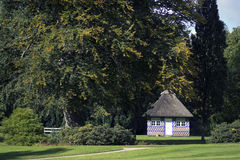 Cottage in a park Royalty Free Stock Photography