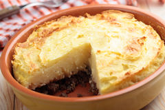Cottage pie Royalty Free Stock Photos