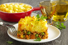 Cottage pie, Royalty Free Stock Photography