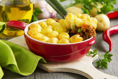 Cottage pie, Royalty Free Stock Images