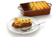 Cottage pie, shepherd's pie Royalty Free Stock Photos