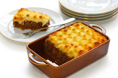 Cottage pie, shepherd's pie Royalty Free Stock Image