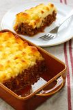 Cottage pie, shepherd's pie Stock Images
