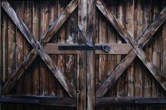 Cottage-porta Immagini Stock Libere da Diritti