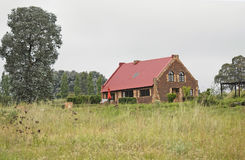 Cottage rural rustique Images libres de droits