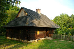 Cottage rurale in Polonia Immagine Stock